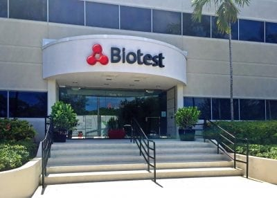 EE&G, Biotest Pharmaceuticals, consulting services