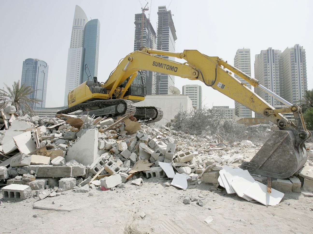 construction, site assessment, demolition,