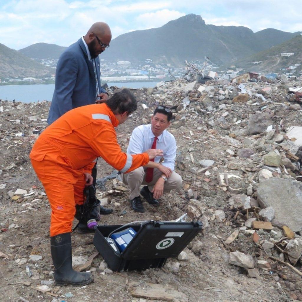 EE&G environmental, EE&G, puerto rico, disaster response