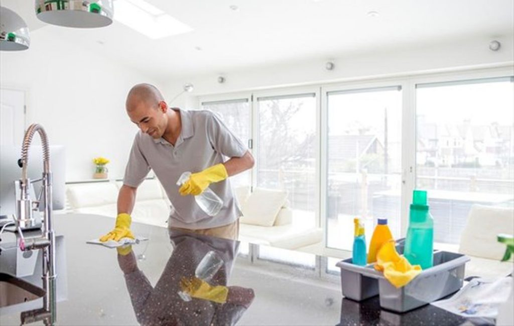Cleaning and Disinfect High-Touch Surfaces